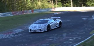 Spy Video of the Lamborghini Huracan Superleggera at Nurburgring