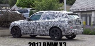 Spy Video of the new BMW X3