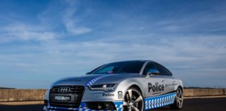 The Australian police has bought an Audi S7 Sportback