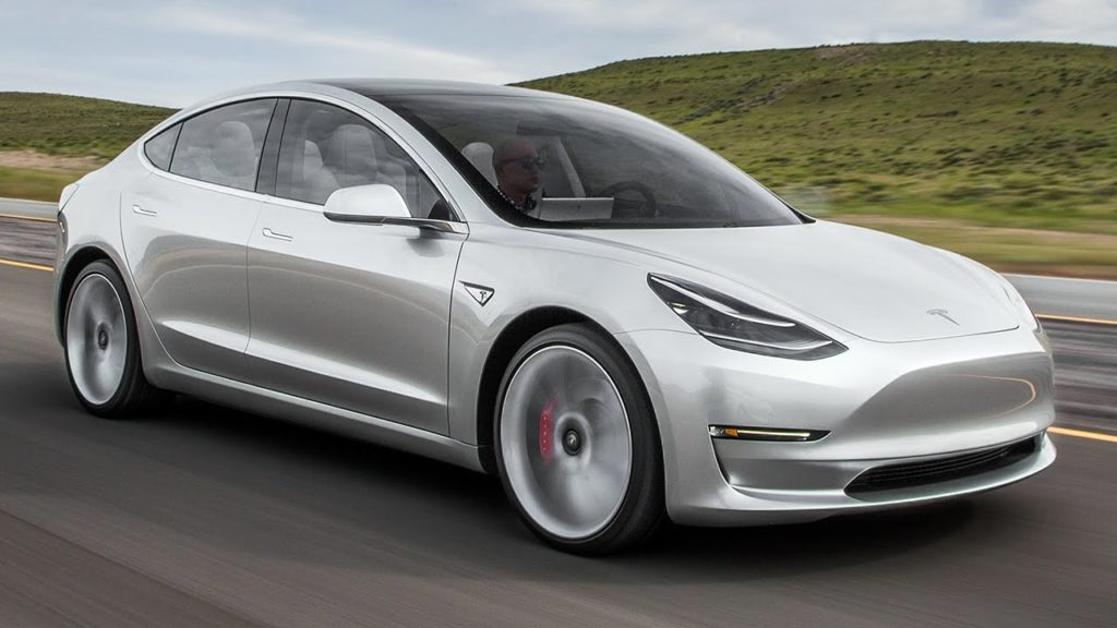 The Tesla Model 3 has been sold out for the first year of its production
