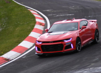 The new Chevrolet Camaro ZL1 laps the Nurburgring in 729.60