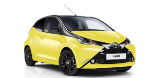 Toyota Aygo X-Cite Yellow Edition