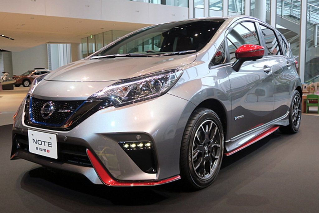 2017 Nissan Note e-Power Nismo