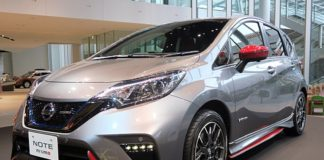 2017 Nissan Note e-Power Nismo