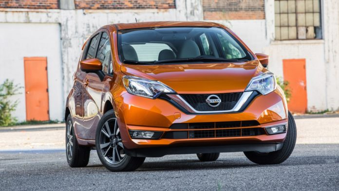 2017 Nissan Versa and Juke Black Pearl Edition