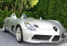 A 2010 Mercedes-Benz SLR McLaren Stirling Moss is up for sale