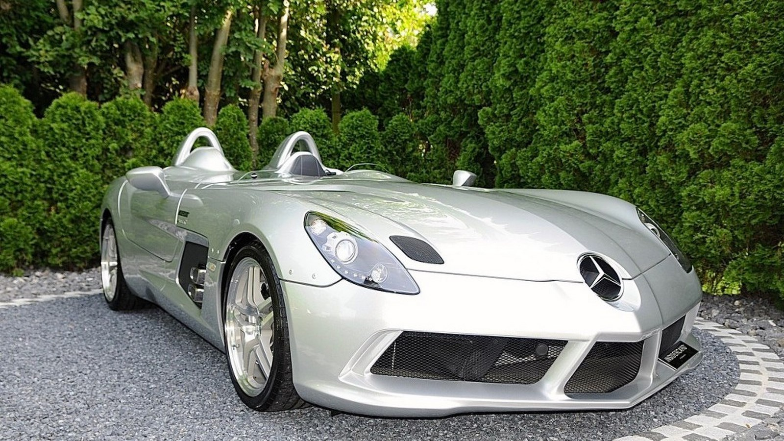 a 2010 mercedes benz slr mclaren stirling moss is up for sale