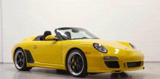 A beautiful Porsche 911 (997) Speedster is up for sale