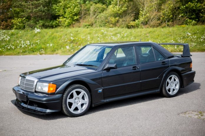 A pristine Mercedes-Benz 190 E 2.5-16 Evolution II is heading to auction