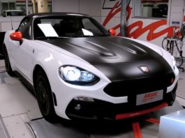 Abarth 124 Spider by Biesse Racing