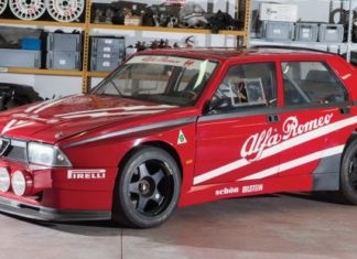 An Alfa Romeo 75 Turbo Evoluzione IMSA was autioned for €336,000!