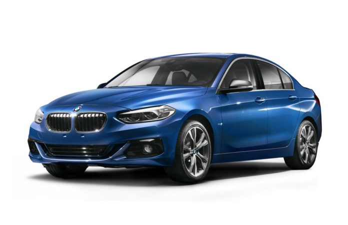 BMW is considering to release the 1 Series Sedan in Brazil