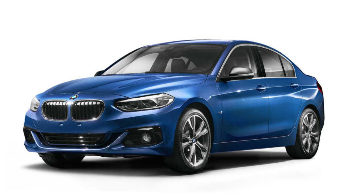 BMW presented the 1-Series Sedan at the Guangzhou auto show