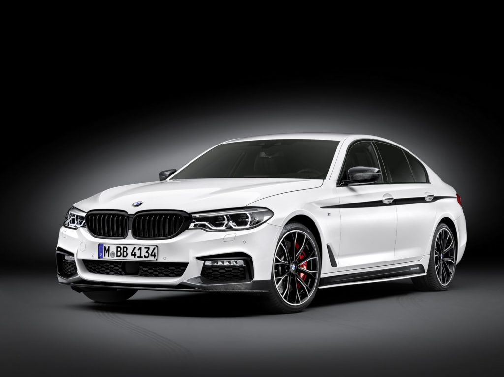 BMW presented the M-Performance parts of the new 5-Series