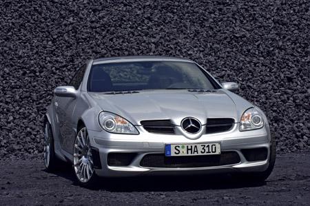 Car Legends 2006 Mercedes-Benz SLK 55 AMG Black Series