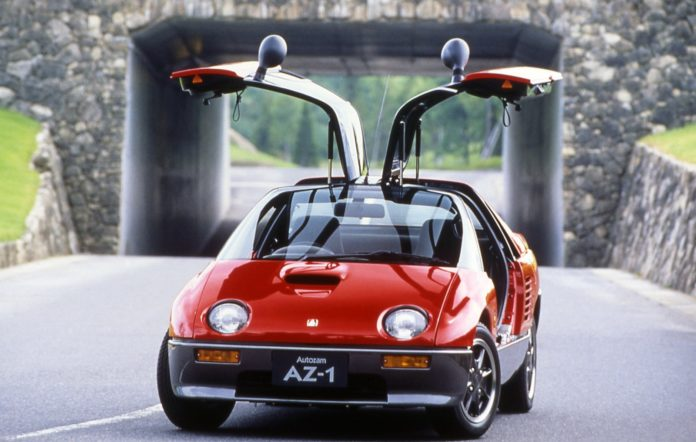 Car Legends Mazda-Autozam AZ-1