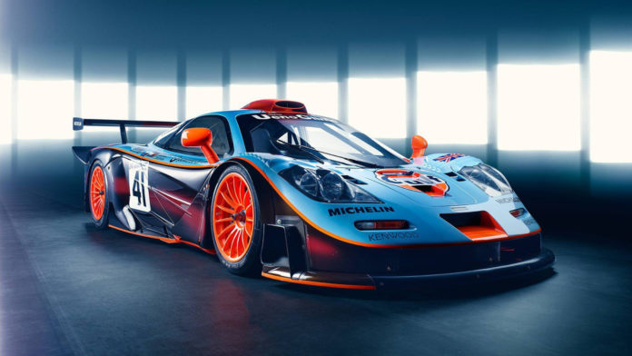 Car Legends McLaren F1 GTR Longtail