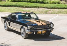 Caroll Shelby's personal Mustang GT350H is heading to auction