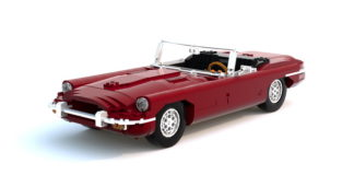 LEGO Jaguar E-Type
