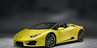Lamborghini Huracan Rear-Wheel Drive Spyder