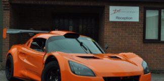 Lotus Exige with a Ferrari engine
