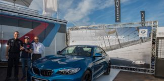 Marc Marquez won a BMW M2