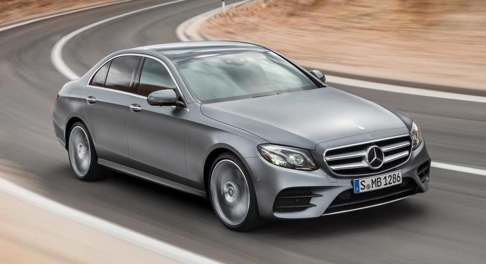 Mercedes is recalling 6,858 new E-Class
