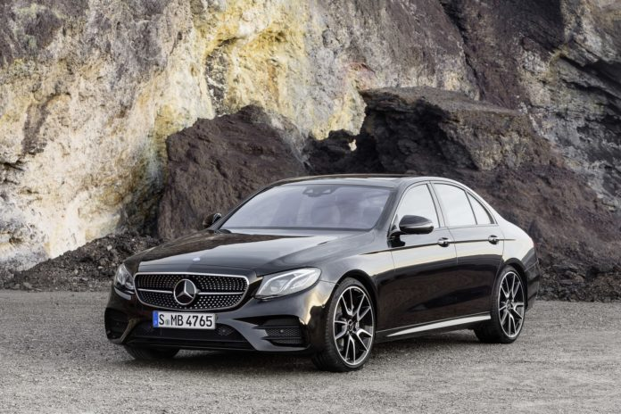 Mercedes will present the 2017 E-Class Coupe at the Detroit Motor Show