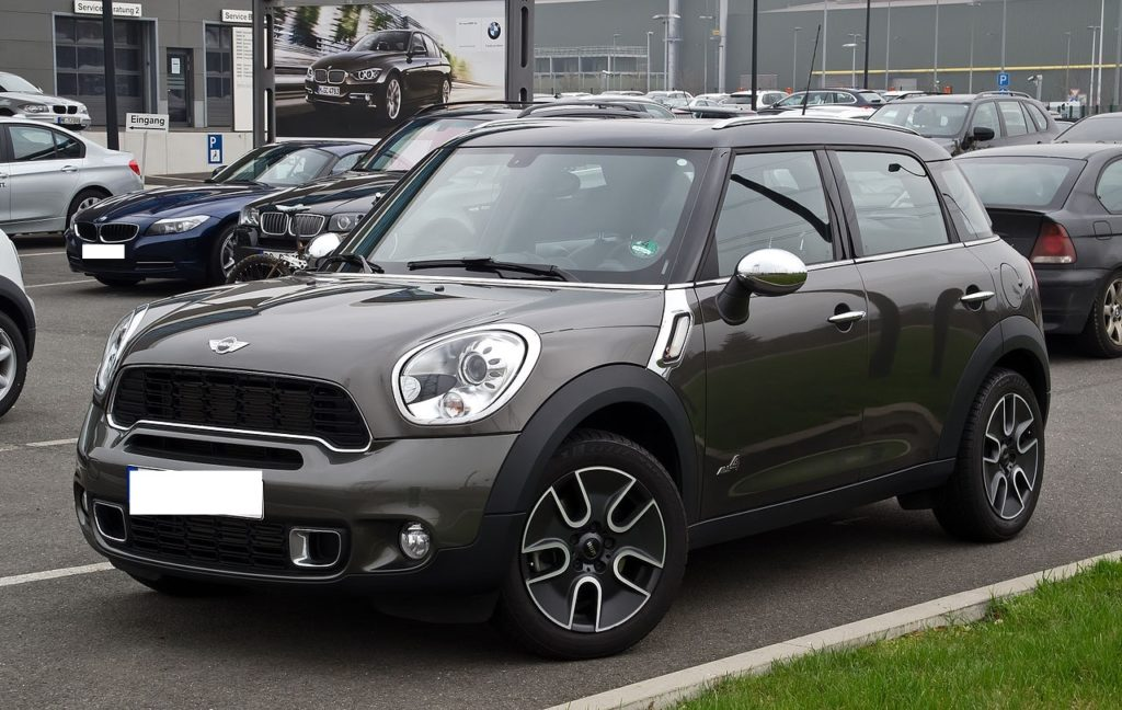 Mini is thinking of a Countryman Coupe SUV