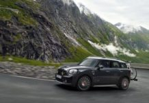 Mini presented a range of John Cooper Works accessories