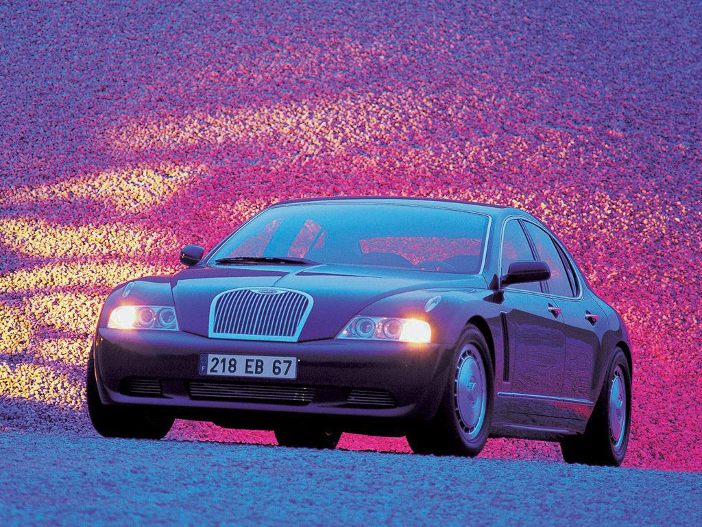 Old Concept Cars: Bugatti EB 218 concept