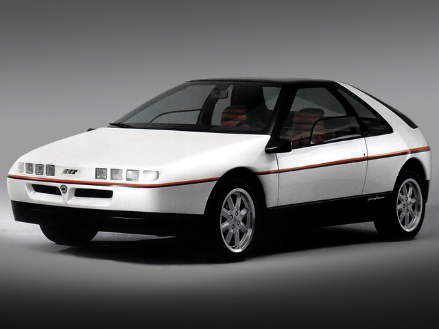 Old Concept Cars: Lancia HIT by Pininfarina