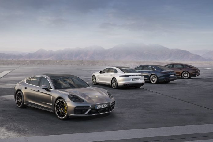 Porsche presented new version of the Panamera