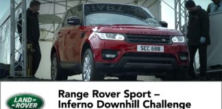 Range Rover has prepared a promo video for the Sport featuring Ben Collings, the ex Stig