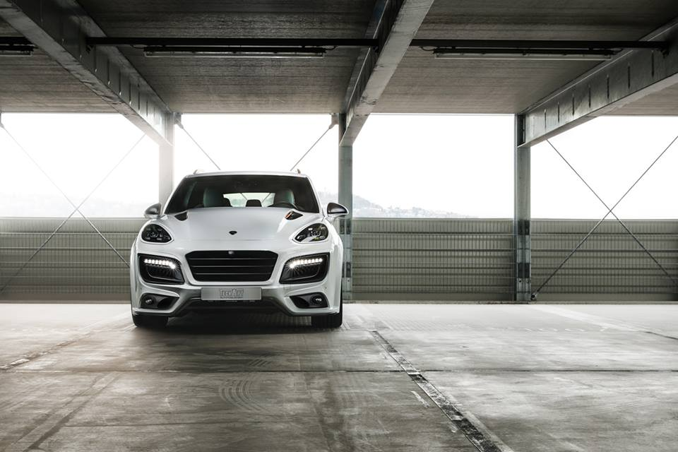Techart Magnum Sport, a modified Porsche Cayenne