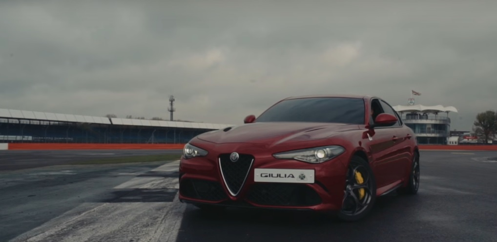 The Alfa Romeo Giulia Quadrifoglio has set a new record at Silverstone