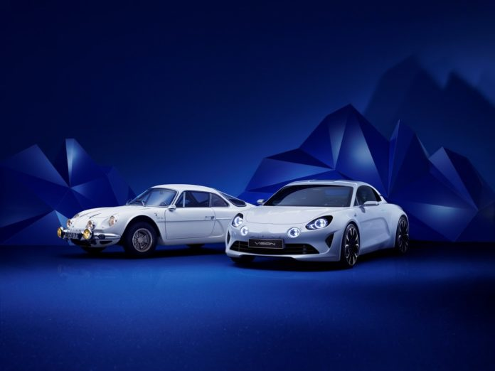 The Alpine A120 Coupe will be presented in 2017