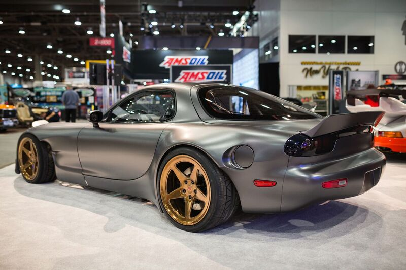 The most extreme Mazda RX-7 in the world