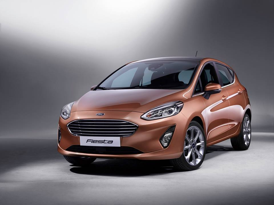 The new Ford Fiesta