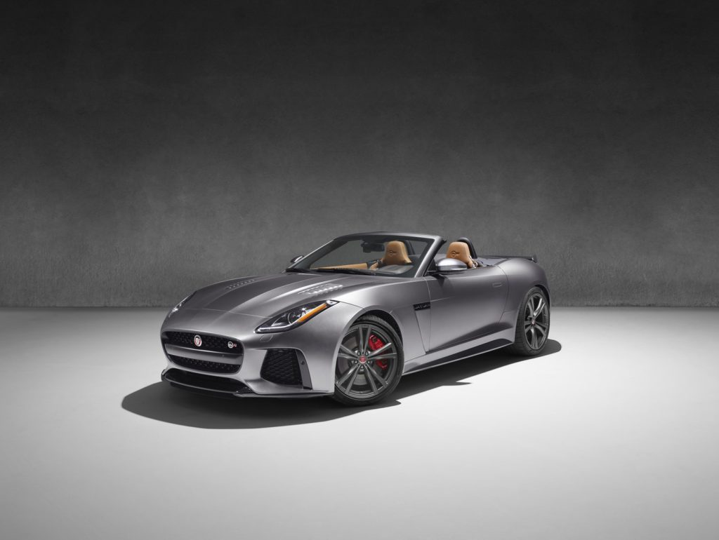 The new Jaguar F-Type will have its engine in the middle