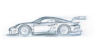 The new Porsche 911 RSR will be presented in Los Angeles