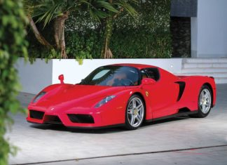 Tommy Hilfiger's Ferrari Enzo is heading to auction