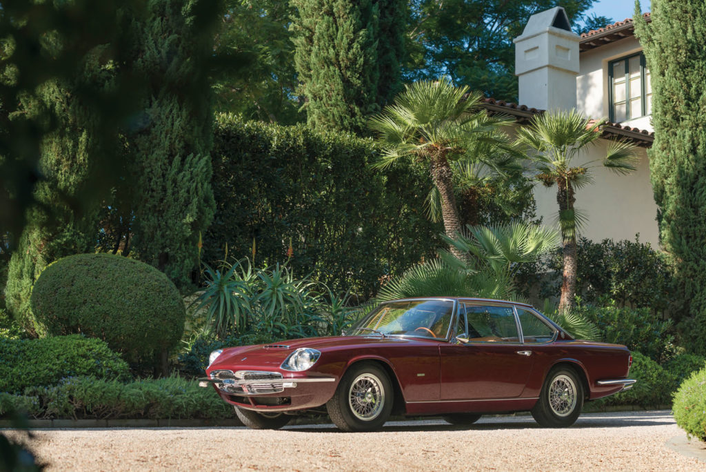 1967 Maserati Mexico heads to auction