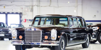1968 Mercedes-Benz 600 Pullman heads to auction