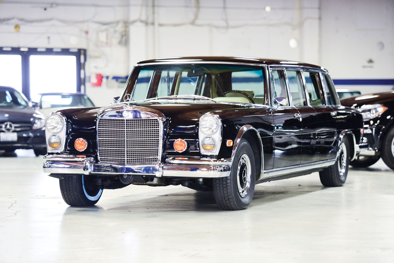 1968 mercedes benz 600 pullman heads to auction. Black Bedroom Furniture Sets. Home Design Ideas