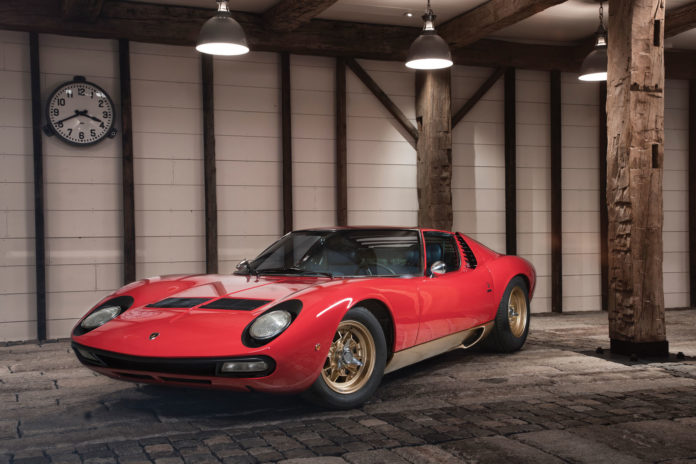 1971 Lamborghini Miura SV is heading to auction
