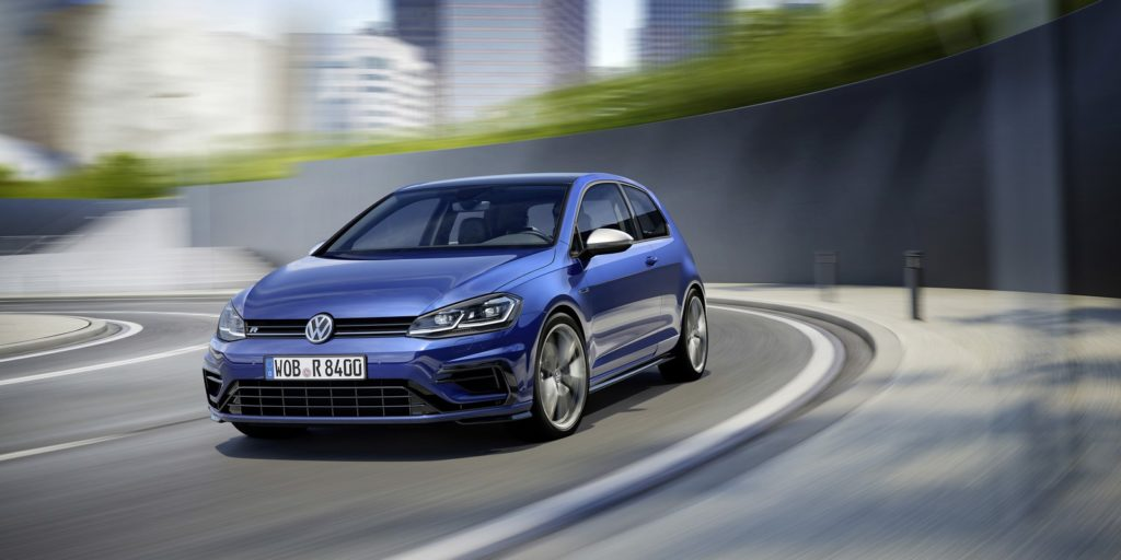 2017 Volkswagen Golf R facelift