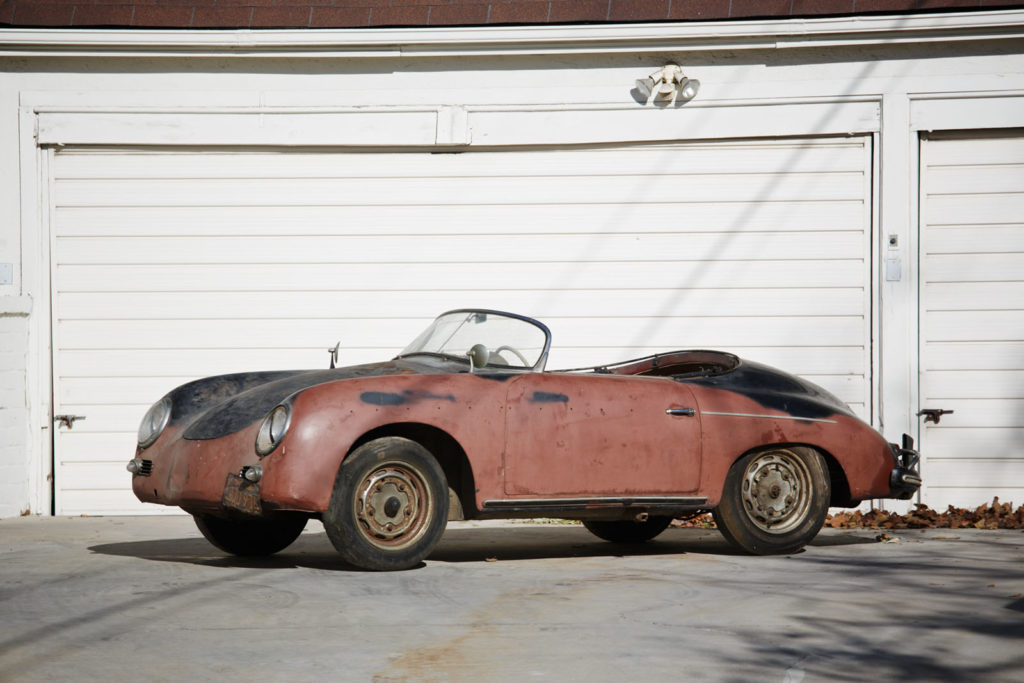 A 1958 Porsche 356 A Super Speedster is heading to auction
