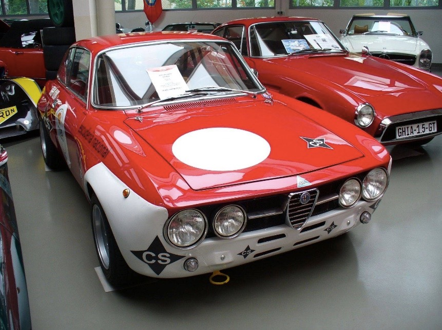 A 1970 Alfa Romeo GTAm is up for sale