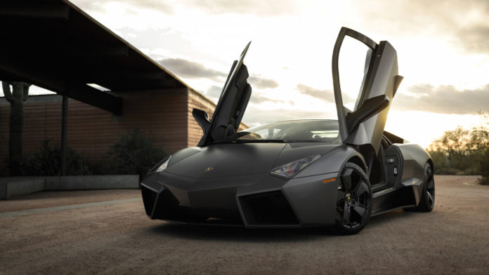 A Lamborghini Reventon with less than 1,000 miles is heading to auction